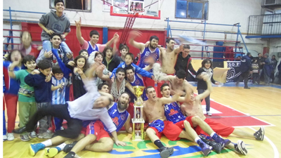 FERRO CAMPEON BASQUET