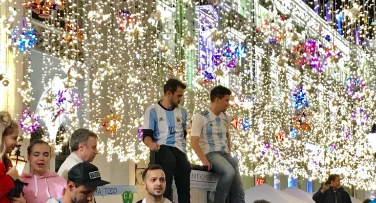 A puro color, arrancó el Mundial de Rusia