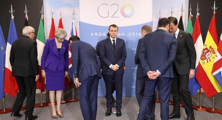Las imágenes de la cumbre del G20 en Argentina