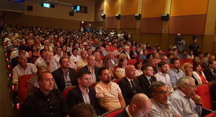 Sastre dejó inaugurado el periodo de sesiones del concejo