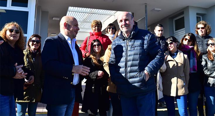 Inauguraron las nuevas oficinas de turismo en el muelle Piedra Buena