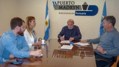 Convenio entre el puerto y la universidad - El Diario de Madryn