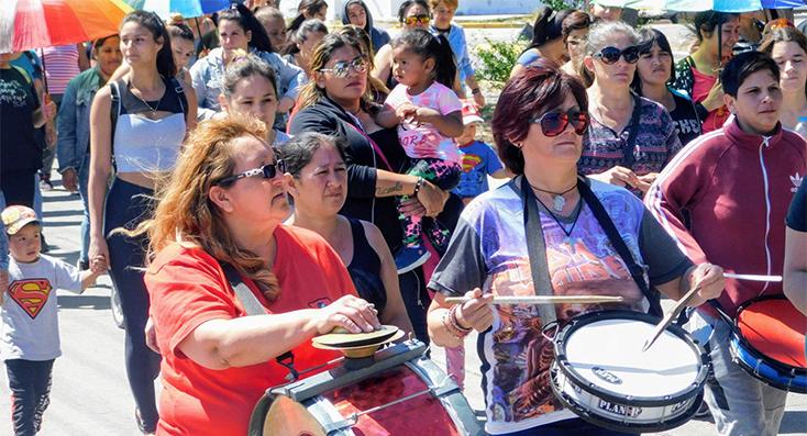 Distintas marchas por el Día de la Eliminación de la Violencia contra la Mujer