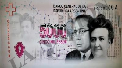 Ramón Carrillo, Cecilia Grierson y el Malbrán en el billete de $5.000 –   El Diario de Madryn